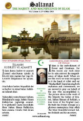 Saltanat Magazine Greatness and Power  of Islam