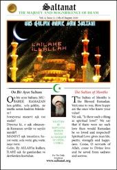 Saltanat Magazine The Sultan of Months