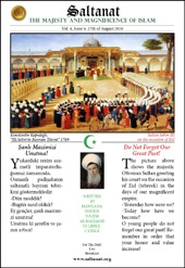 Saltanat Magazine Do Not Forget Our Great Past!