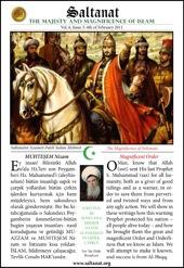 Saltanat Magazine Magnificent Order