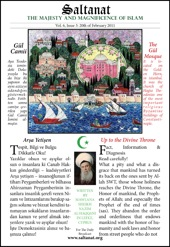 Saltanat Magazine Up to the Divine Throne