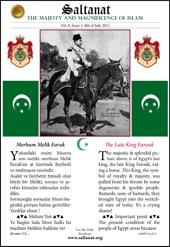 Saltanat Magazine The Late King Farouk