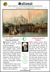 Saltanat Magazine A State Founded on  Religion