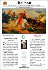 Saltanat Magazine If You Want to Endure