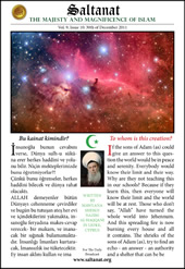 Saltanat Magazine To Whom Is This Universe?
